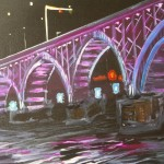 Peace Bridge at Night 3 hour