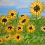 Kid's Sunflowers