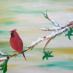 Cardinal on Berry Branch