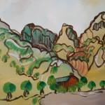 Van Gogh Remy Mountains